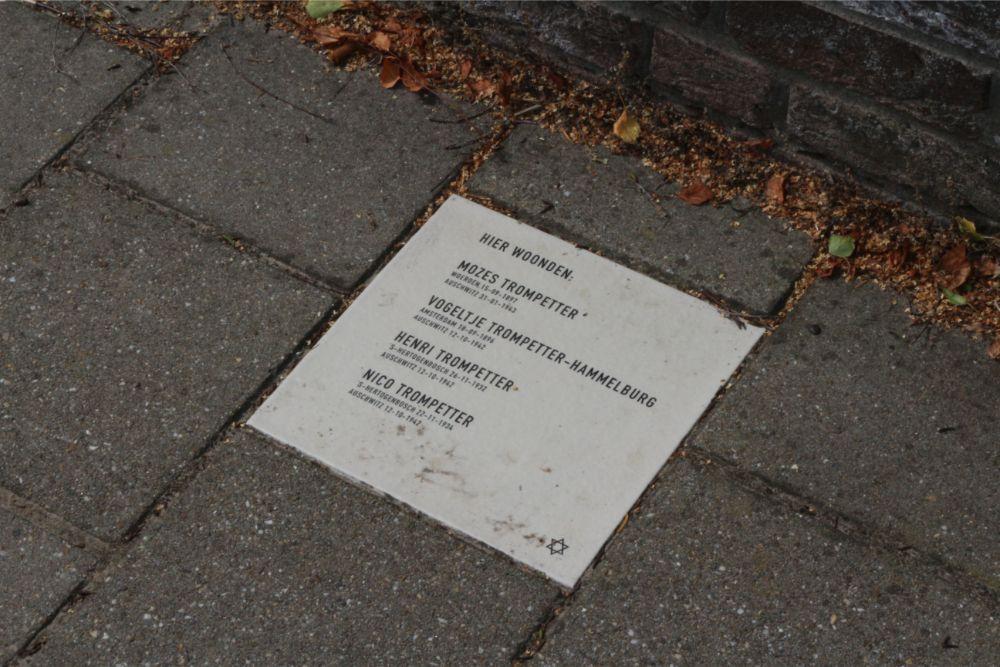 Memorial Stone Wilhelminalaan 19