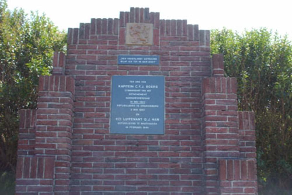Monument C.F.J. Boers en Q.J. Ham