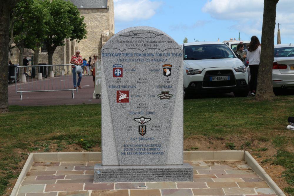 Monument Bevrijders Sainte-Mère-Église