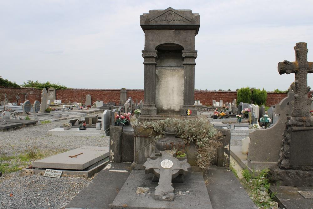 Belgische Oorlogsgraven Taintignies