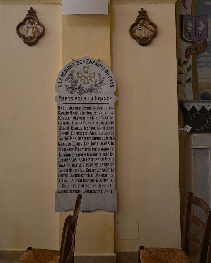 World War I Memorial Le Thoronet