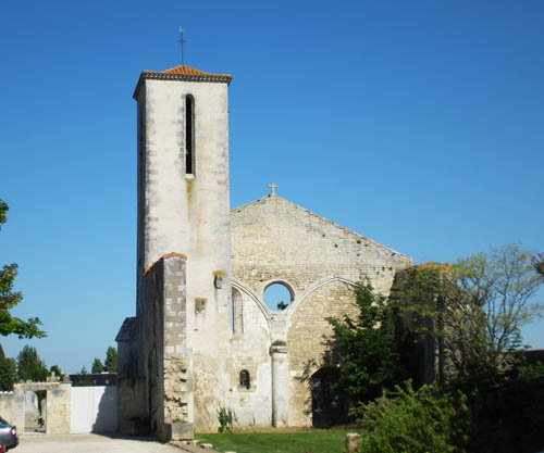 Ruins Church La Rochelle
