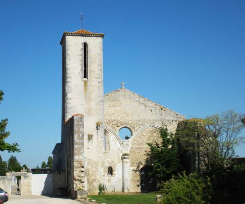 Ruïne Kerk La Rochelle