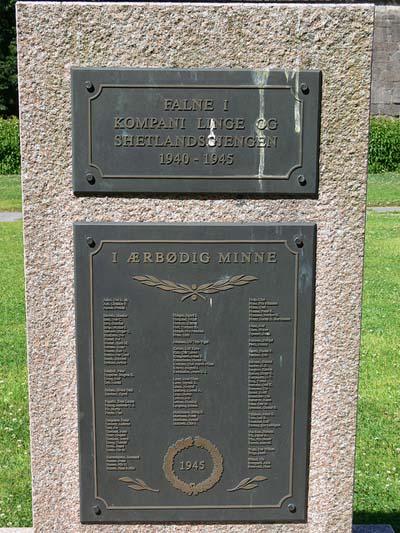 Memorial Norwegian Commandos Oslo