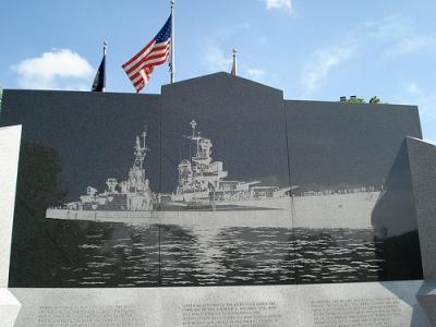 Monument U.S.S. Indianapolis