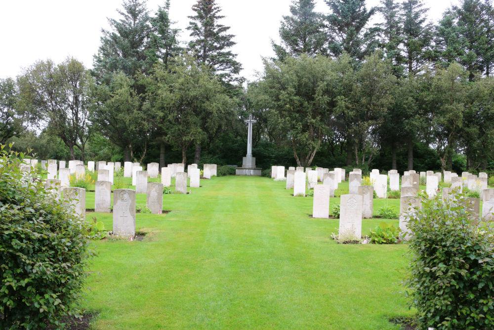 Begraafplaats Fossvogur Reykjavik