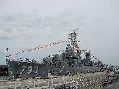 Museumschip USS Cassin Young (DD-793)