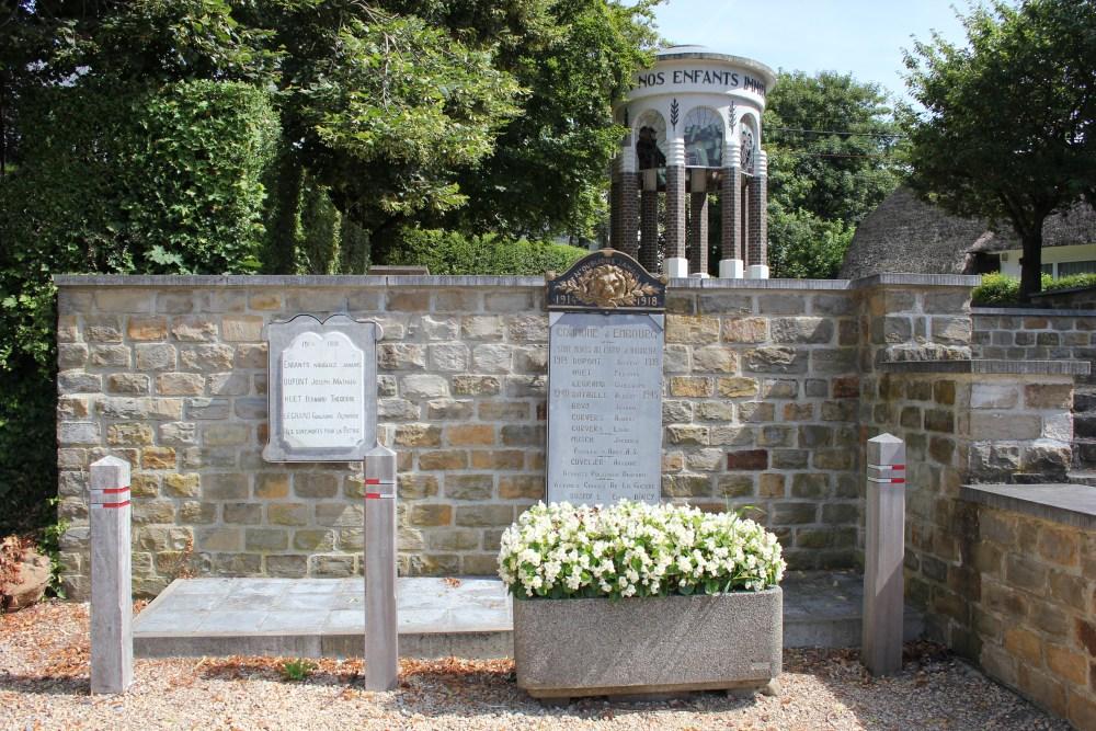 Commemorative Plates War Victims Embourg