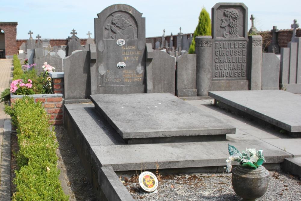 Veteran War Graves Chapon-Seraing
