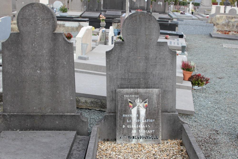 Belgian War Grave Ellezelles