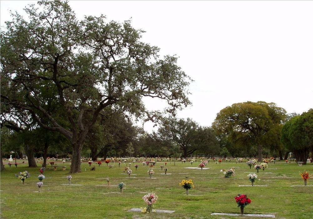 Amerikaanse Oorlogsgraven Cook Walden Forest Oaks Memorial Park
