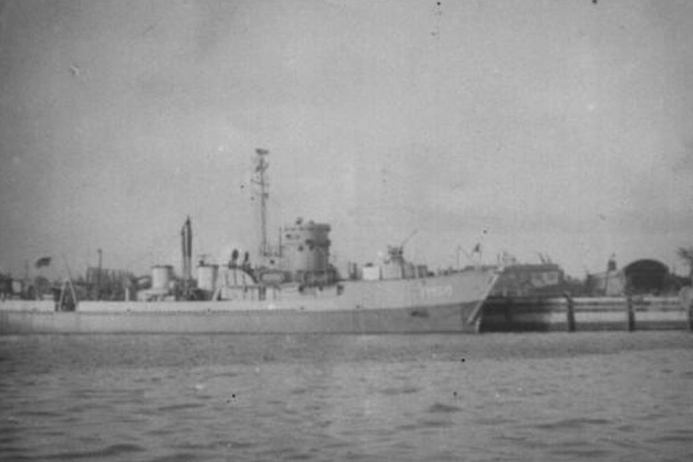 Scheepswrak U.S.S. YMS-30