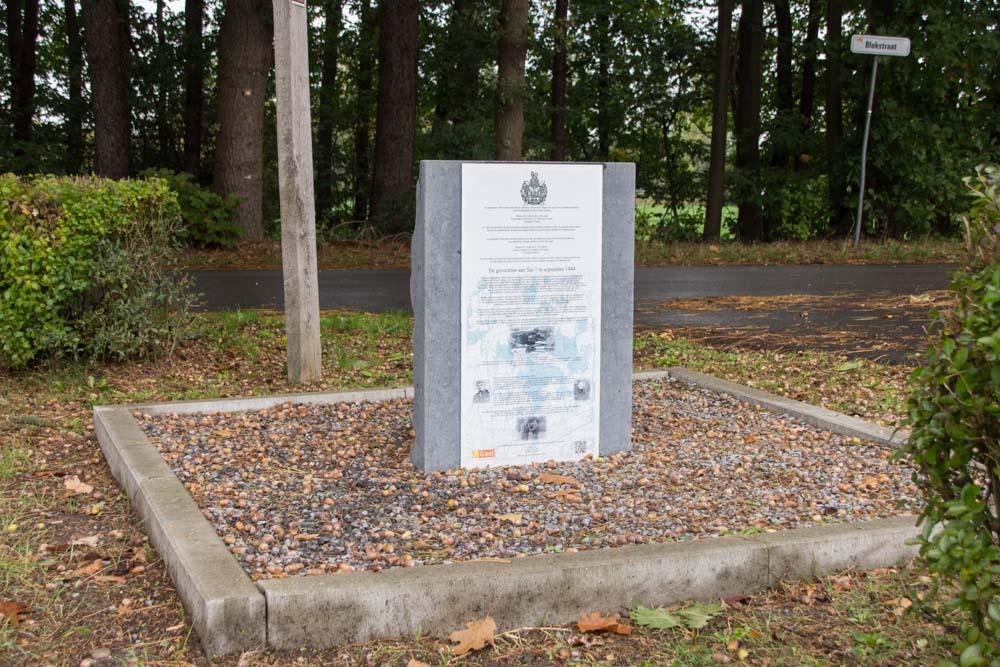 Monument Slachtoffers 6de bataljon King's Own Scottish Borderers