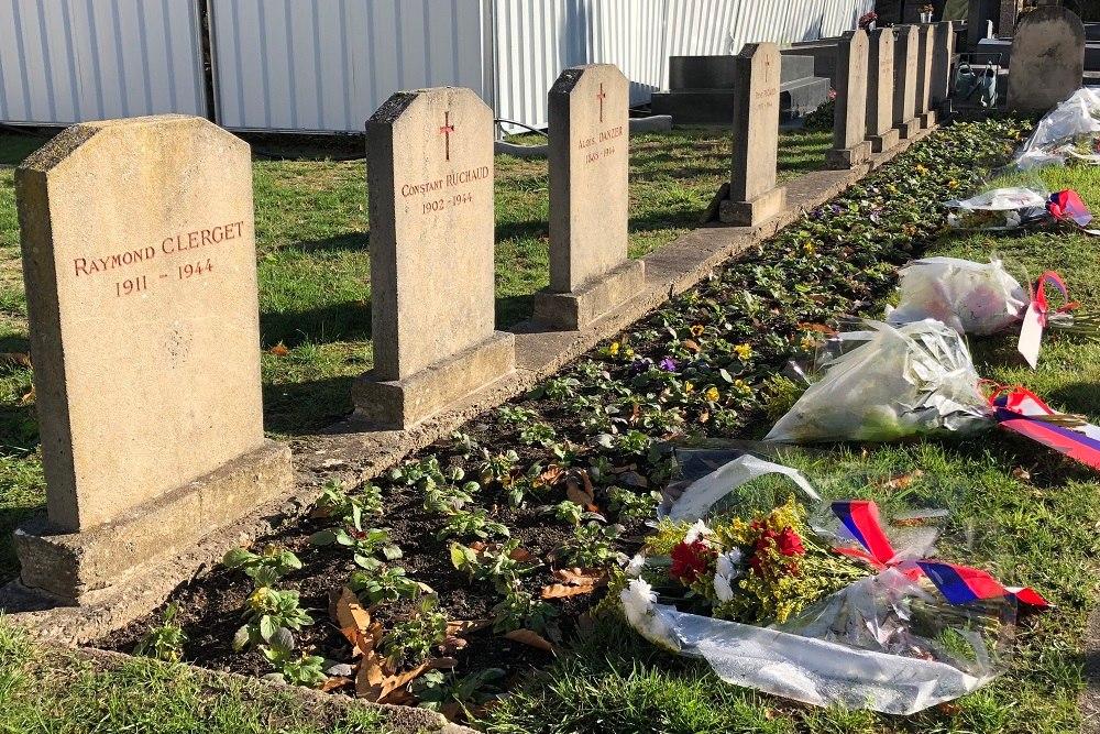 Franse Oorlogsgraven Cimetière de Neuilly-sur-Seine