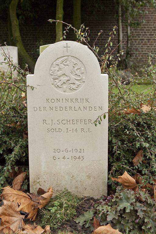Dutch War Grave Westerbegraafplaats