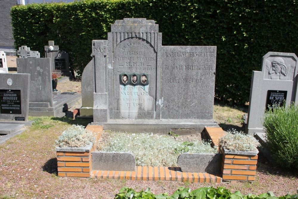 Grave Executed Resistance Fighters Eine