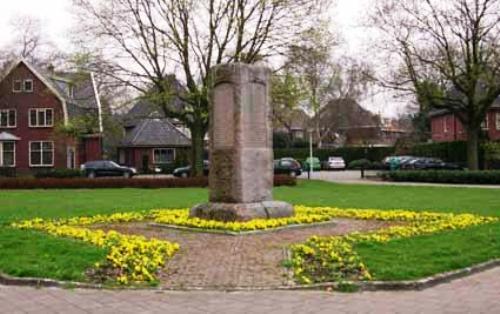 Monument Krijgsgevangenen Enschede