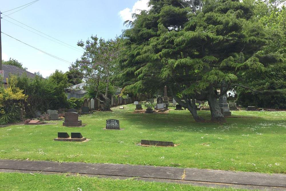 Oorlogsgraven van het Gemenebest Holy Trinity Anglican Memorial Park Cemetery