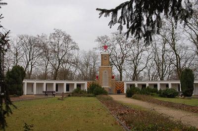 Soviet War Cemetery Lebus