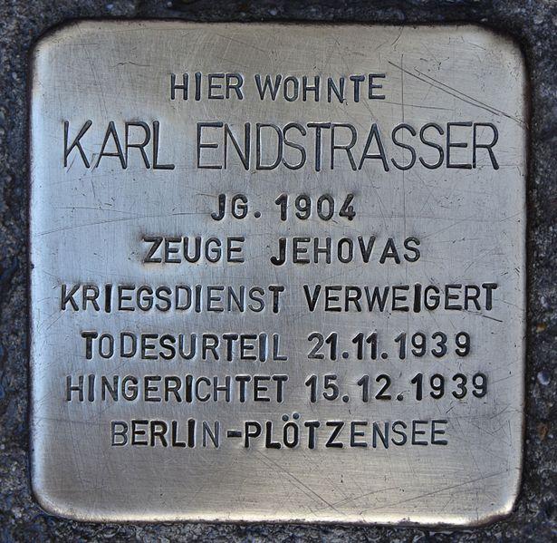 Stolperstein Wiener Straße 53