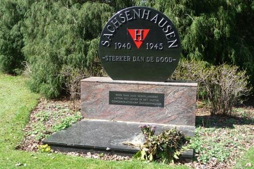 Sachsenhausen Monument Reeburgpark Vught