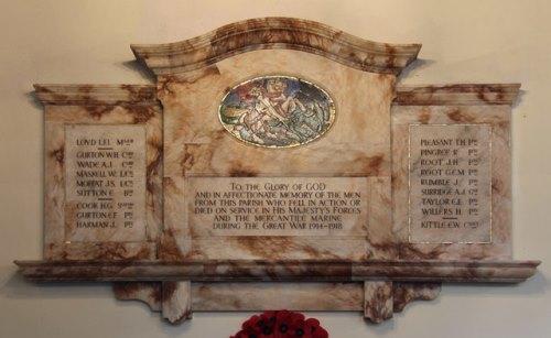Oorlogsmonument St. Mary the Virgin Church Stapleford Abbotts