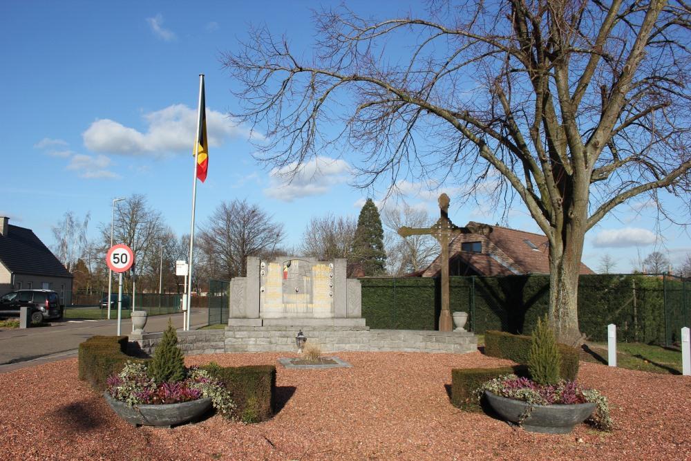 Monument Tweede Wereldoorlog Zepperen