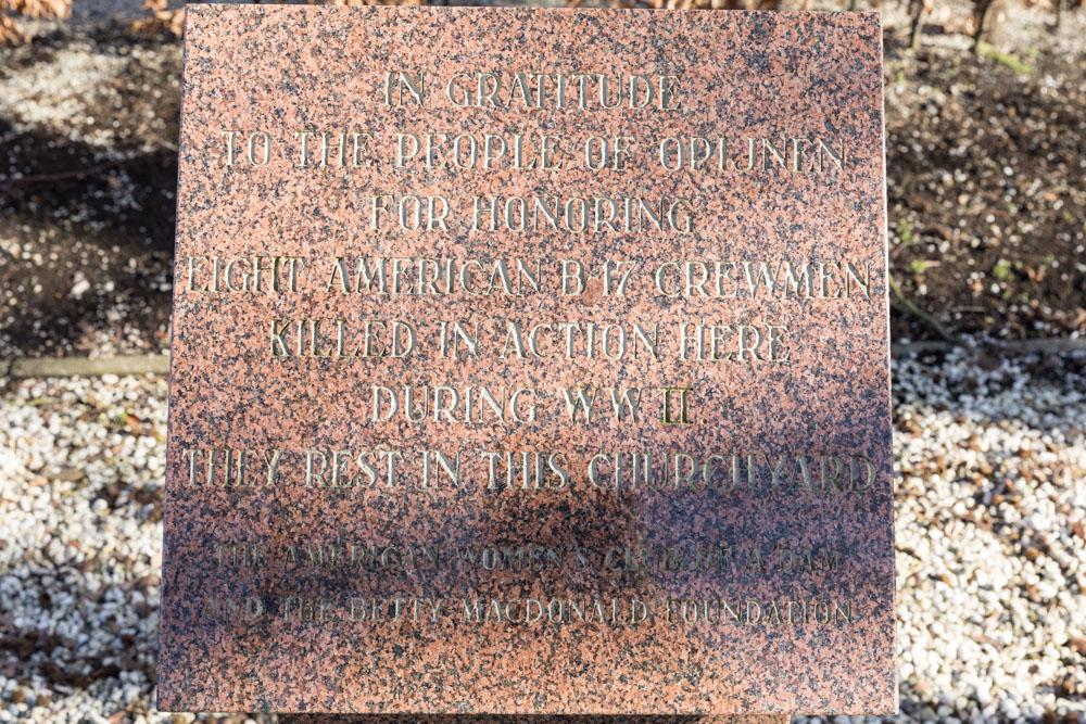 Monument Omgekomen Amerikaanse Vliegeniers