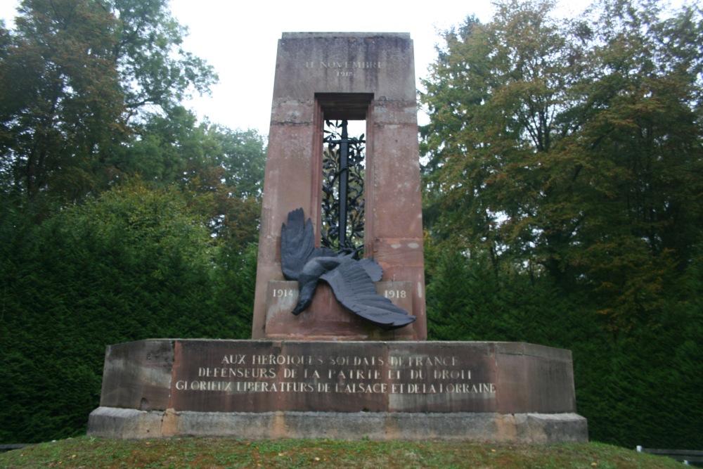 Monument Alsace-Lorraine Compiègne