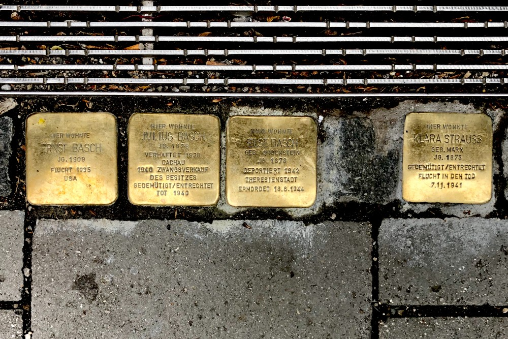 Stumbling Stones Widenmayerstraße 16