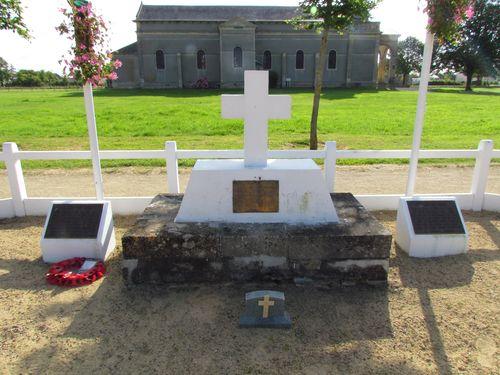 Monument 1e Speciale Brigade Amfreville
