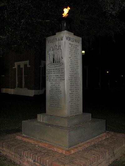 Oorlogsmonument Burke County