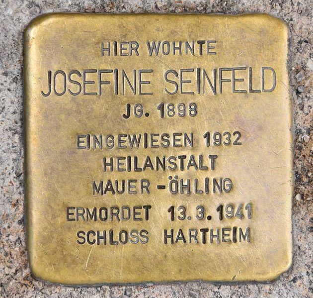 Stolperstein Domplatz 12