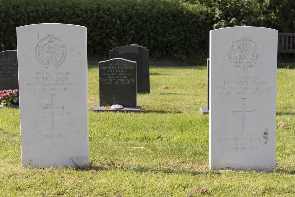 Commonwealth War Graves Appleby Cemetery