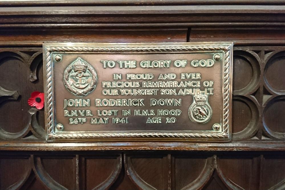 Plaques Church of St John the Evangelist Edinburgh