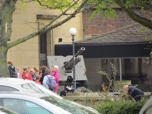Ordnance QF 25 pounder York Castle Museum