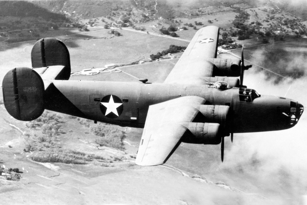 Crashlocatie B-24D