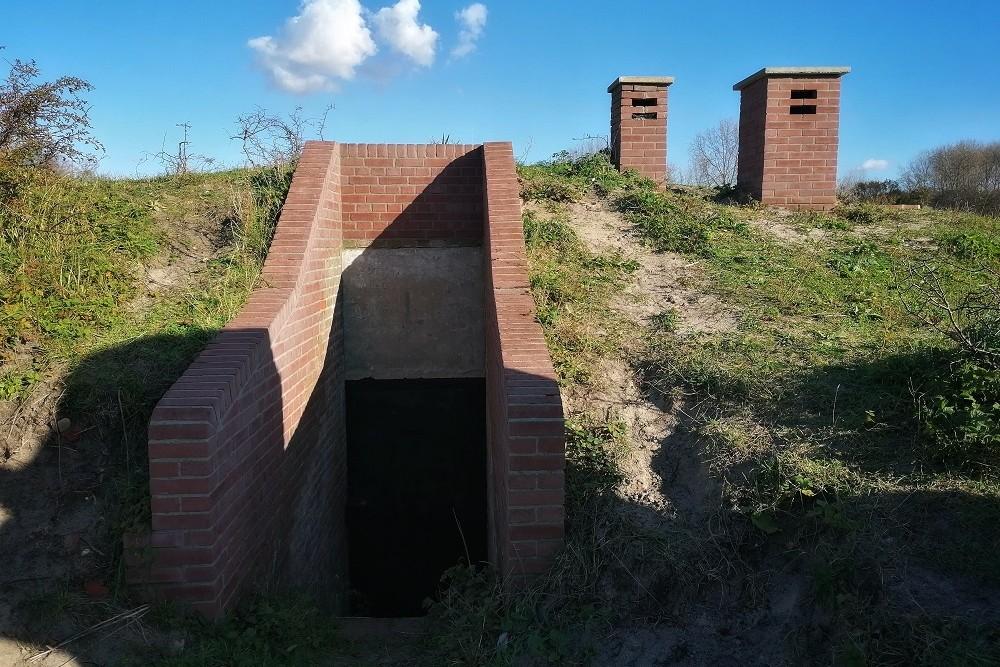 Duitse Bunker Küvertype 428 Oostvoorne