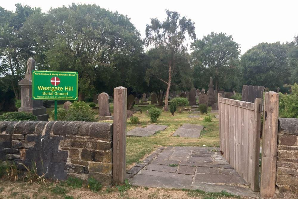 Oorlogsgraf van het Gemenebest Westgate Hill Methodist Burial Ground