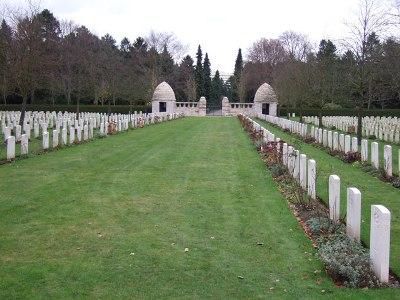 Oorlogsbegraafplaats van het Gemenebest Zuidelijke Begraafplaats Köln