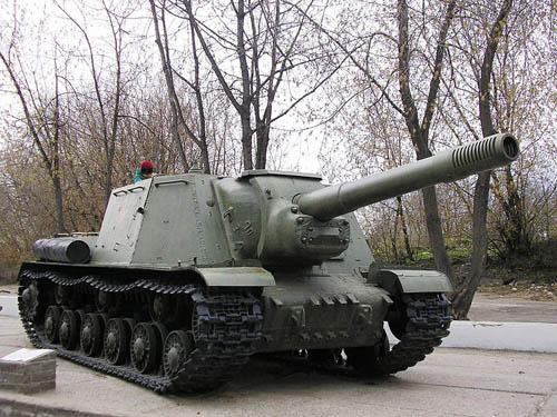 ISU-152 Self-propelled Gun Kineshma