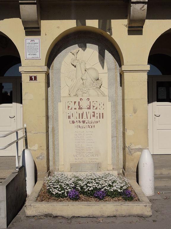 War Memorial Pontavert