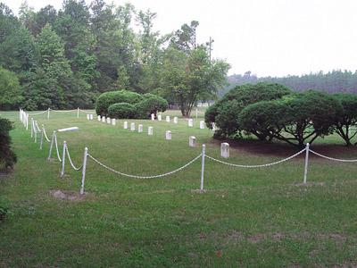 Begraafplaats Duitse Krijgsgevangenen Fort Gordon