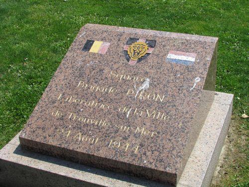 Memorial Brigade Piron Trouville-sur-Mer
