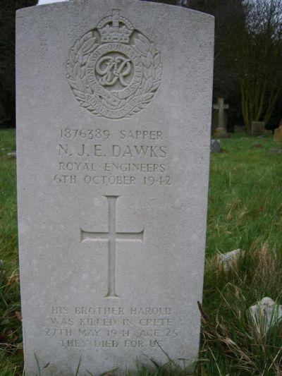 Commonwealth War Graves St. Andrew Churchyard