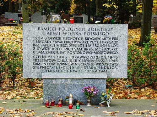 Monument 1e Poolse Leger