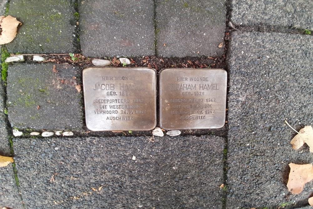 Stumbling Stones Gijsbrecht van Amstelstraat 100