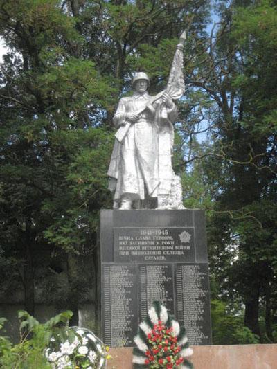 Mass Grave Soviet Soldiers Sataniv