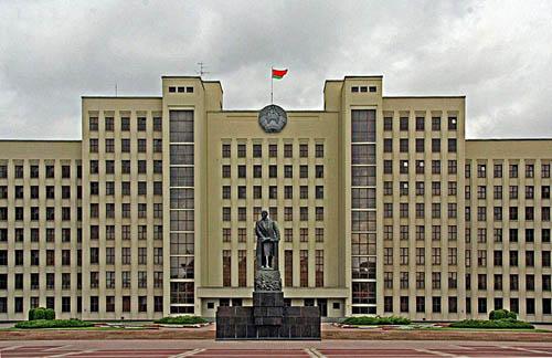 Witrussische Staatsoverheidgebouw Minsk