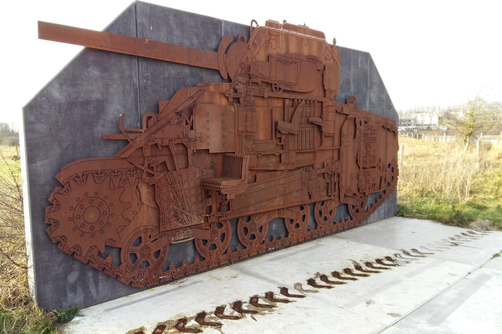 Tank Memorial Arnhem